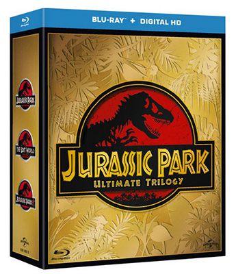 Jurassic Park Trilogie Blu ray (inkl. UltraViolet Kopie) für 8,69€