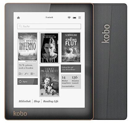KOBO Aura N514 für 84€   6 Zoll eBook Reader mit WLAN und 4GB