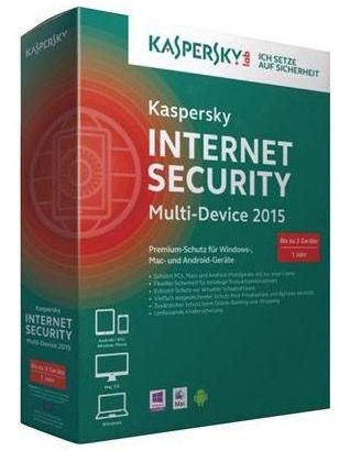 Kaspersky Internet Security Multi Device 2015 für 21,99€   nutzbar für 3 Geräte, 1 Jahr