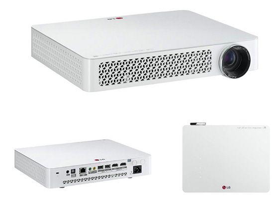 LG PF80G LG PF80G Full HD LED Beamer mit 1.000 ANSI Lumen und WLAN für 888€