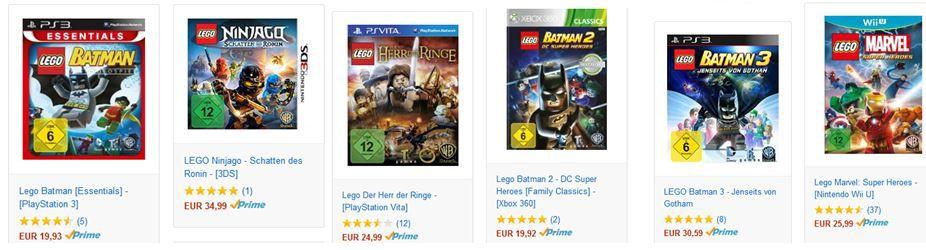 Sparaktion Lego Games: 3 für 2   das günstigste ist Gratis