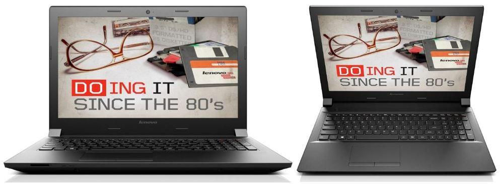 Lenovo B50 70 MCC2FGE   15 Zoll Notebook mattes Display i3 4005U 4GB 320G ab 259€
