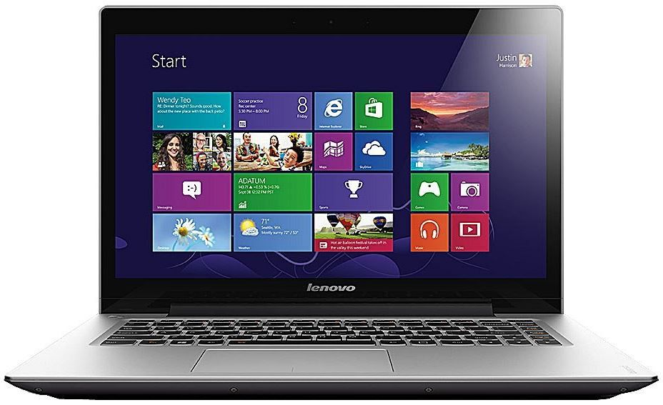 Lenovo i7 Notebook Lenovo U430touch   Intel Core i7 4500U, 3GHz, 8GB RAM, 256GB SSD für 799€ @Amazon Lenovo Aktion