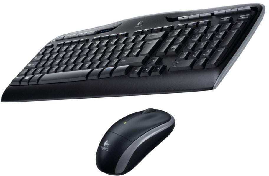 Logitech MK330   schnurlose Tastatur mit Maus für 25,51€ (statt 35€)