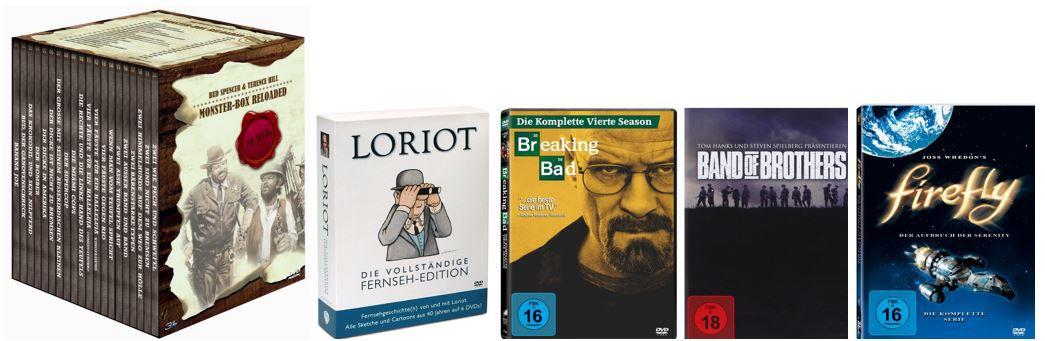 Loriot DVD Bud Spencer & Terence Hill   Monster Box Reloaded für 54,99€ bei den Amazon Sommer Serien Schnäppchen
