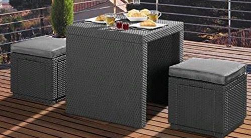 3 teilige Lounge Sitzgruppe Jamaika für 89,99€