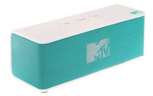 MTV Boom Box Bluetooth Lautsprecher in Türkis für 24,90€