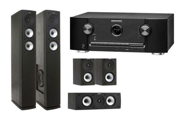 Marantz SR5009 SZ 7.2 AV Receiver + Jamo S 626 HCS 3 ES Lautsprechersystem für 849€