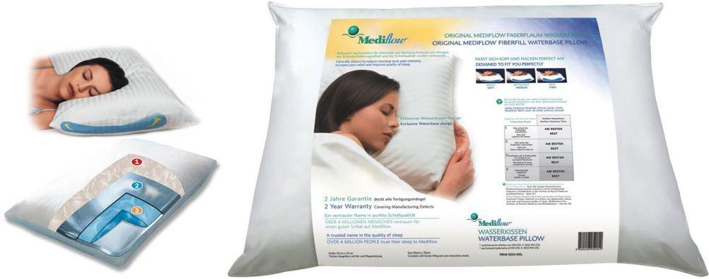 Mediflow Mediflow 5001 Original Wasserkissen 40 x 80 cm ab 24,99€ bei der Amazon Mediflow Aktion