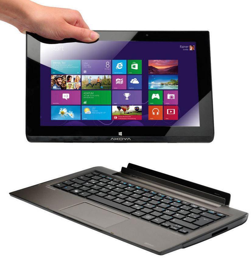 MEDION AKOYA P2212T MD 99288   11,6 Touch Notebook mit 500GB + 64GB Flash für 229,99€