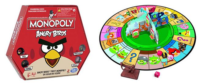 Monopoly Angry Birds Hasbro A9342100   Monopoly Angry Birds ab 9€