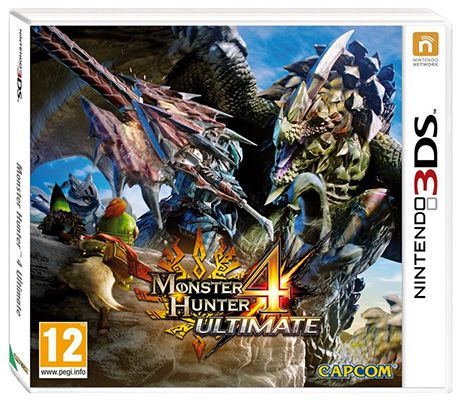 Monster Hunter 4 Ultimate (Nintendo 3DS) für 22,63€