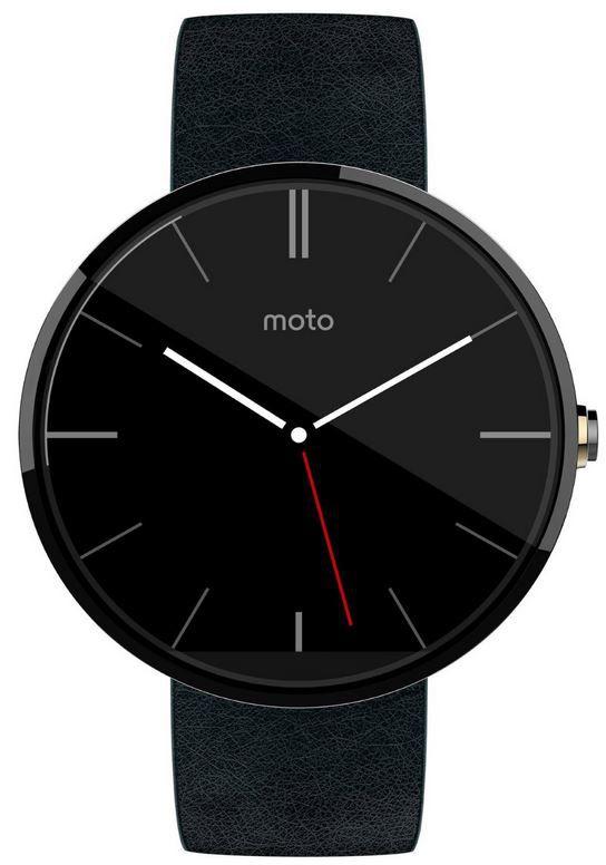 Motorola Moto 360   Android Smartwatch refurb. für 95,90€