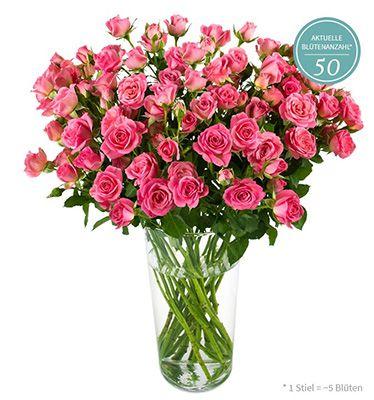 Miflora mit neuer Rosen Rallye: bis zu 20 Nathalie Rosen mit 140 Blüten für 18,85€