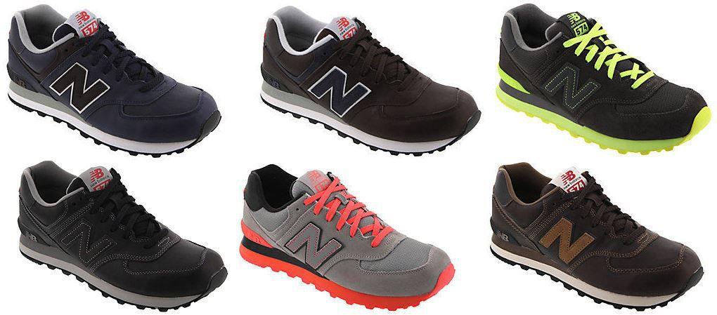 New Balance 574   Herren Sneaker 6 versch. Modelle für je Paar 39,90€   Update!