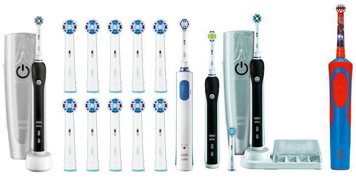 Braun Oral B Pro 4500 e Zahnbürste mit 2 Handstücken und Reiseetui für 83,99€ heute bei der Oral B 20% Rabatt Aktion