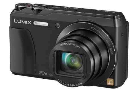 Panasonic Lumix DMC TZ 56 Kompaktkamera ab 144€   16 MP, 20x opt. Zoom, Full HD, WLAN