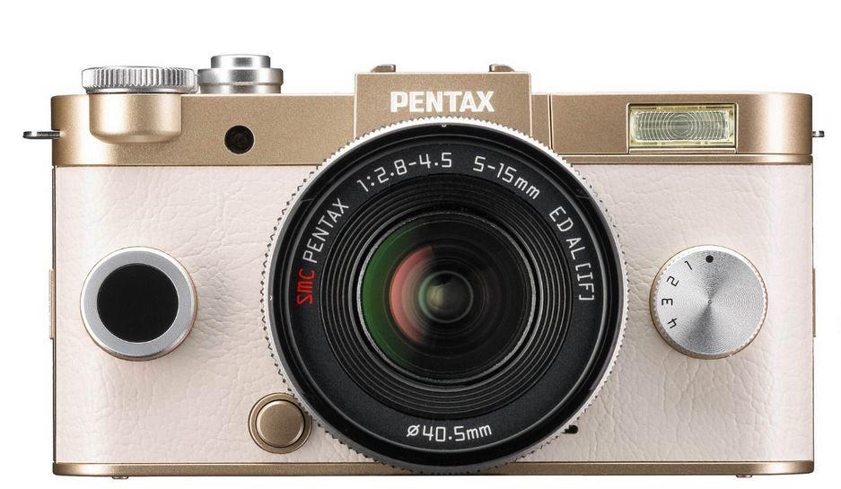 Pentax Q S1 Full HD Systemkamera 12 MP, 3 Zoll + 5 15 mm Objektiv für 203€