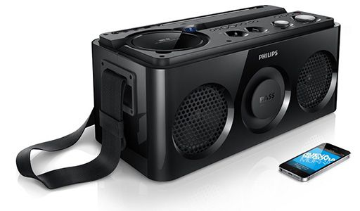 Philips AZ 1/12 Soundsystem mit Bluetooth für 127€