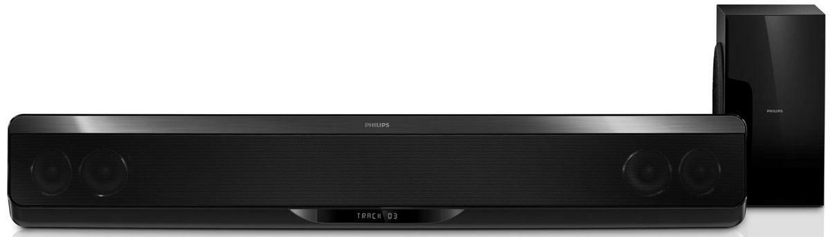 Philips HTB7150/12   5.1 SoundBar mit 3D Ambisound System und Subwoofer für 279€