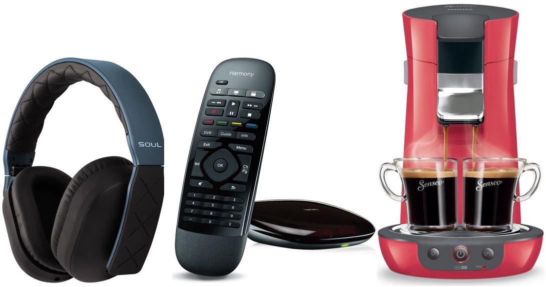 Philips Senseo Viva Café Logitech Harmony Smart Control Hub   bei den 52 Amazon Blitzangeboten bis 11Uhr