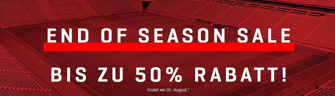 PUMA   End Of Season Sale mit bis zu 50% Rabatt + 10% Extra im Warenkorb