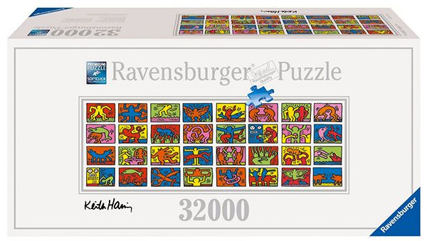 Ravensburger 17838   Keith Haring: Double Retrospect für 116,43€   32.256 Teile Puzzle
