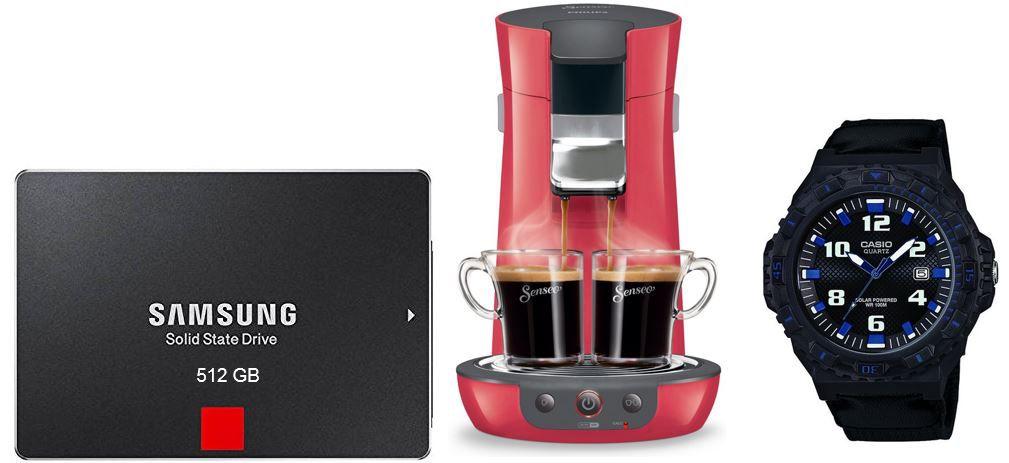Samsung Basic 850 Pro interne SSD 512GB für 216,99€   bei den 47 Amazon Blitzangeboten ab 18Uhr