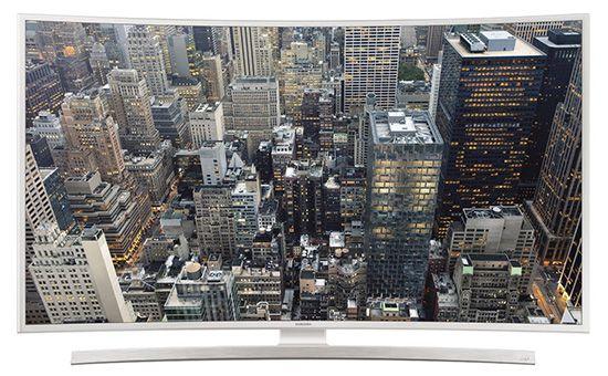 Samsung UE40JU6580   40 Zoll UHD Curved Fernseher mit WLAN und Triple Tuner für 749,99€