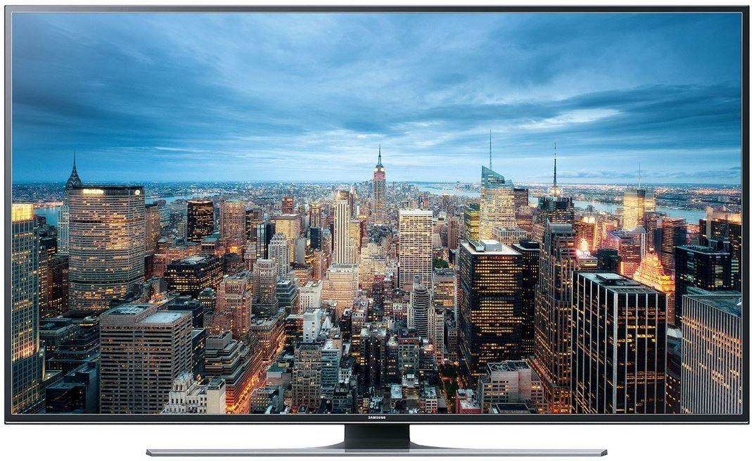 Samsung UE48JU6450 Samsung UE50JU6450   50 Zoll UHD WLAN Smart TV mit Triple Tuner für 759€