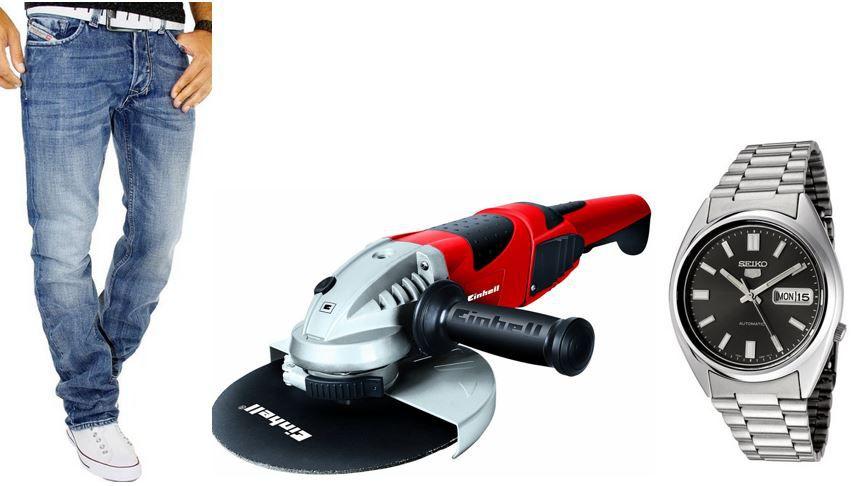 Seiko SNXS79K Diesel Larkee Herren Jeans Wash 008AT für 72,17€   bei den 50 Amazon Blitzangeboten ab 18Uhr