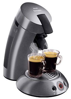 Senseo HD 781269 Senseo HD 7812/69 Kaffeepadautomat + Entkalker für 35€