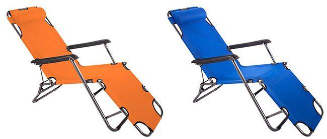 Smartfox Sonnenliege Smartfox Sonnenliege in verschiedenen Farben für je 24,99€