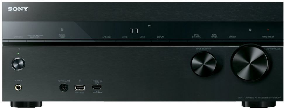 Sony STR DN1050 Sony STR DN1050   7.2 Kanal Receiver mit Internetradio, AirPlay, Deezer und Spotify für 529€
