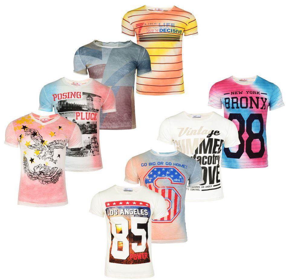 West Wind   Stylische Herren T Shirts div Modelle und Styles Gr. S bis 2XL für je 9,90€