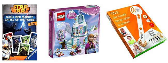20% Rabatt auf Spielwaren ohne MBW bei Thalia   z.B. Lego 41062   Disney Princess: Elsas funkelnder Eispalast für 27,99€