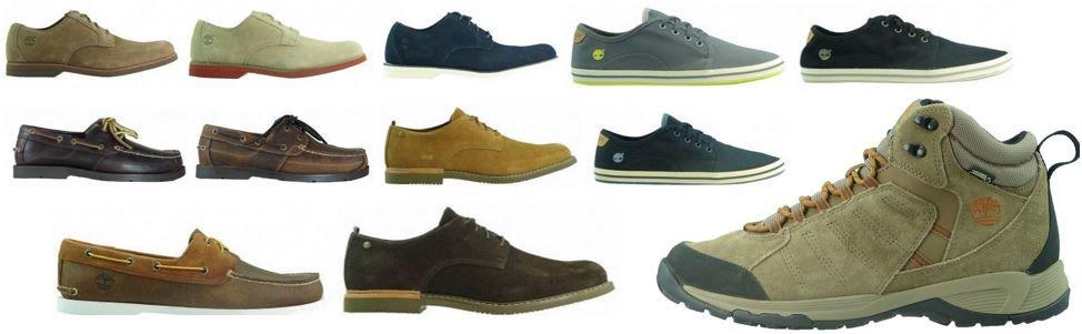 Timberland Herren Schuhe Timberland   Herren Leder und Segelschuhe für je Paar 54,99€