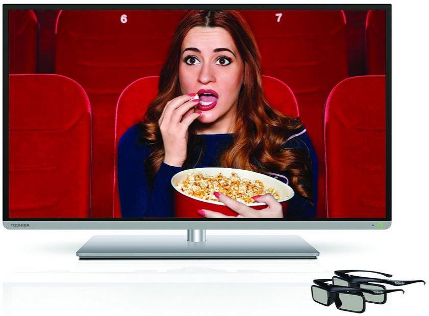 Toshiba 40T5445DG   40 Zoll 3D WLAN Smart TV mit triple Tuner und PVR für nur 389,99€