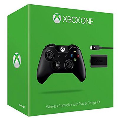 Xbox One Wireless Controller + Play & Charge Kit für 42,13€