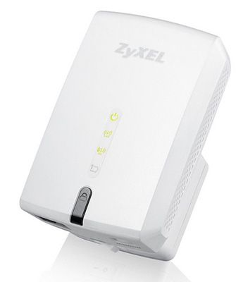 ZyXEL WRE6505   AC750 Dual Band WLAN Repeater mit LAN Port für 42,89€