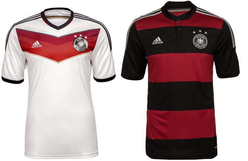 adidas Performance DFB WELTMEISTER 2014 Trikot Home oder Away für je 27,95€