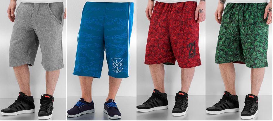 defshop angebot Dangerous DNGRS Herren Shorts von S bis 3XL für je 14,99€