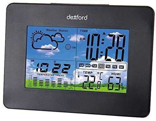 dexford WS 103   Wetterstation mit Kalender, Hygrometer und Weckerfunktionen für 14,95€   Update
