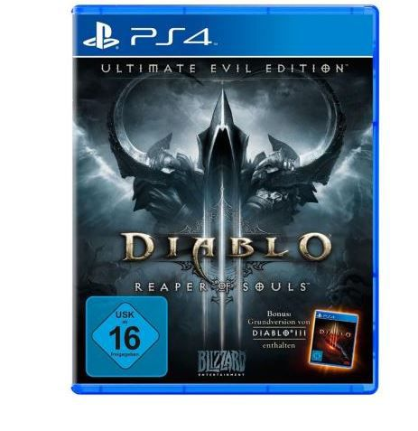 Diablo 3 Ultimate Evil Edition   PS4/Xbox one ab je 19€