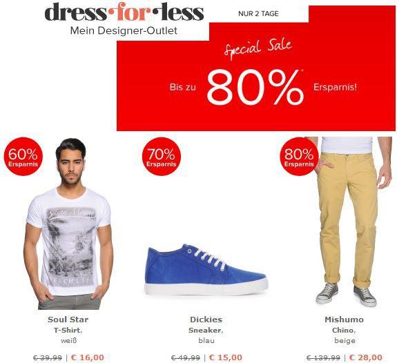 dress for less   bis zu 80% Rabatt   pre Winter Sale + 10% Gutschein