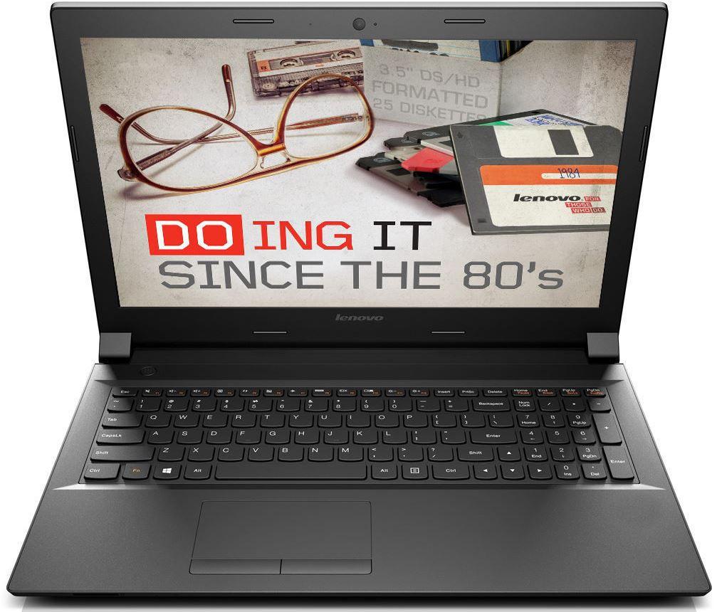 Lenovo B50 45   15 Notebook mit AMD E1 6010, 4GB und 320GB + Windows 8.1 Bing für 199€