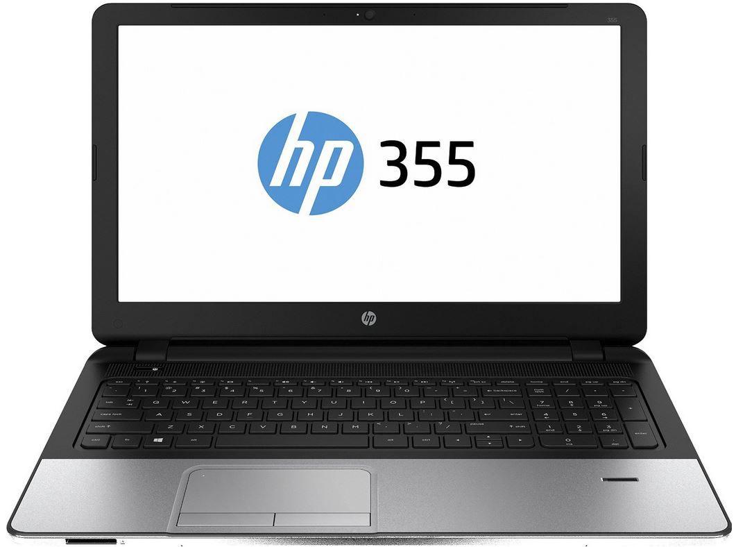 HP 355 G2   15 Zoll Notebook mit Quad Core A8 und AMD Radeon R5 Grafikkarte + Office365 für 309€