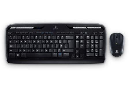 Logitech MK330   schnurlose Tastatur mit Maus für 19,90€