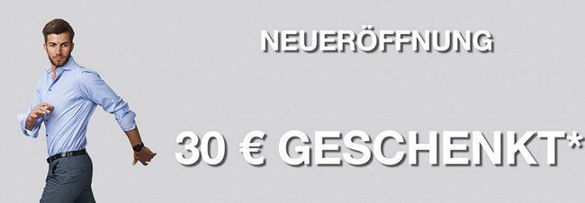 myhemden 30€ Neukunden Rabatt mit 60€ MBW bei myhemden.de   gilt auch auf Sale Ware