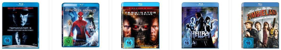 5 Blu-ray für 30€